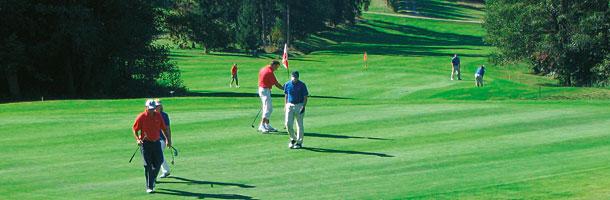 Golfurlaub im Bayerischen Wald